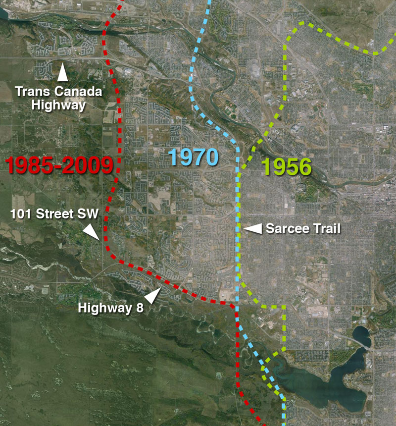 The West Calgary RingRoad
