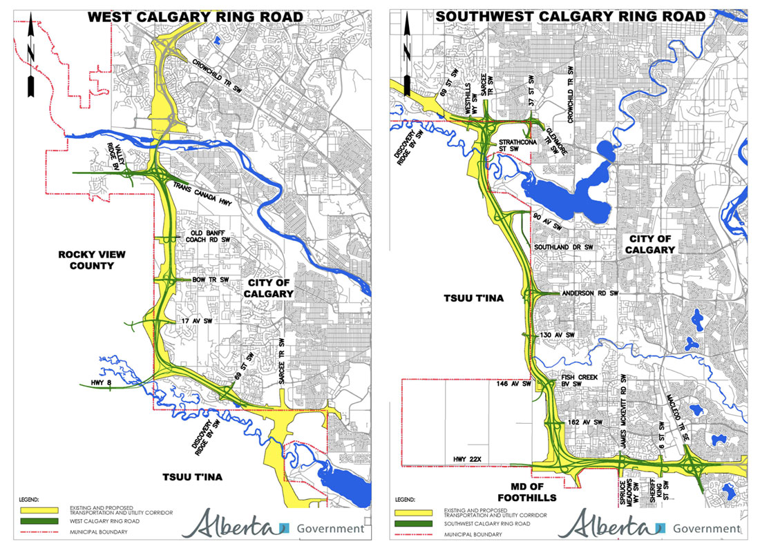Calgary Sw Ring Road Map Budget 2015 and the Ring Road – Calgary Ring Road