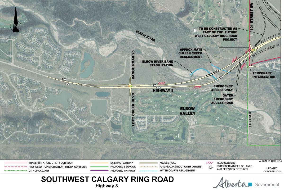 Alberta Highway 201 Calgary Ring Road